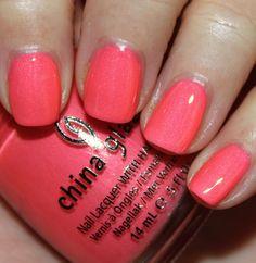 China Glaze Summer Neons '12 - Pink Plumeria