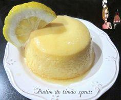 Pudim de limão xpress
