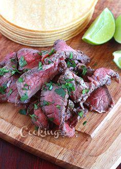 Tequila-lime skirt steak