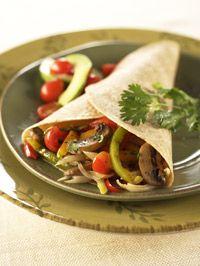 Vegetable Fajitas - Healthy Recipe Finder | Prevention
