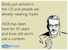Ebola just arrived i