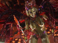 Valesca Popozuda Toples on Carnival.