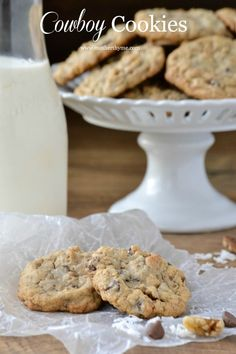 Cowboy Cookies ~ www.motherthyme.com