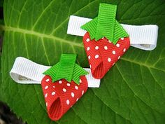 Strawberry Clips