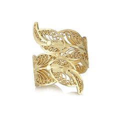 Gold Filligree ring