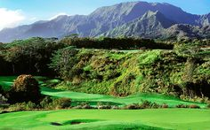 Hole #14 - Prince Course at Princeville Golf Club Visit: www.princeville.com