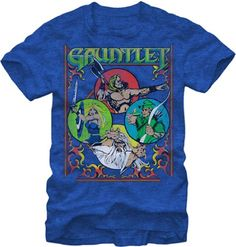 Gauntlet Four Warriors Classic Arcade Video Game Adult T-Shirt Tee - http://www.psbeyond.com/view/gauntlet-four-warriors-classic-arcade-video-game-adult-t-shirt-tee - http://ecx.images-amazon.com/images/I/51yP3sIFpbL.jpg