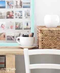 DIY Instagram Display