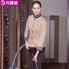 Uniform for restaurant hotel on pinterest restaurant for Spa uniform bangkok