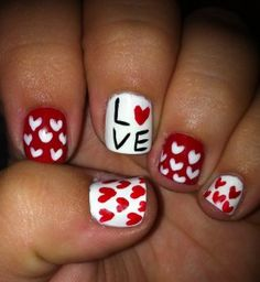 Amazing nail designs all done by a 16 yr old...TALENT!