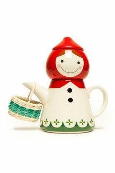 Little Red Tea Set