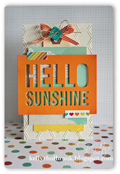 Card created by Kelly Holbrook