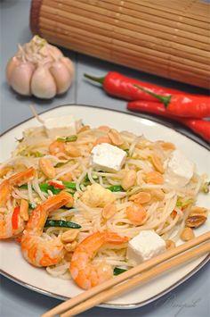 вок из рисовой лапши рецепт с фото