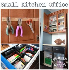 Organizing Tips for the Hub: Papers, Craft, Art and Office Supplies