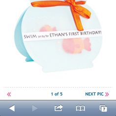 Fish birthday ideas from parenting.com