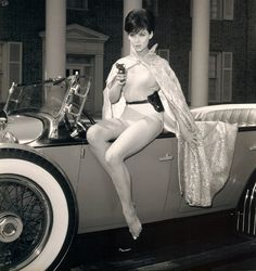 White Lycra Catsuit worn By Yvonne Craig. Buy your Catsuit for dance from DCUK Dance Clothes.