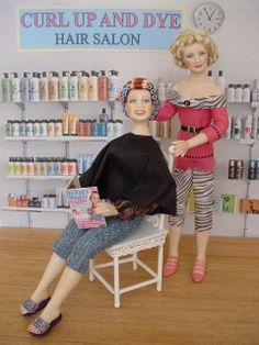 HAIRSTYLIST - I was fortunate enough to puchase these dolls from Debbie when she first began selling on CDHM.org!
