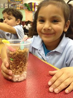 Edible soil layers project