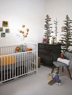 white / grey / nature nursery