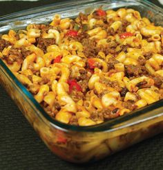 I found this goulash recipe a few days and made it - very good.  The sauce makes it.