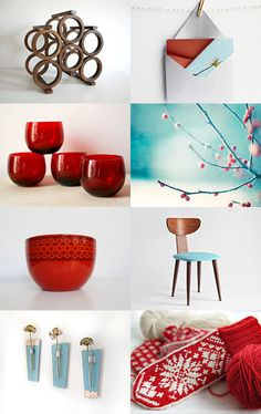 Gift Guide :: A Mid Century Modern Christmas -- Pinned with TreasuryPin.com