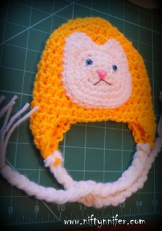 Kitty Cat Hat free