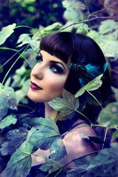 Dark Woodland Fairy Makeup