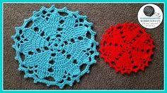 Crochet Doily Heart