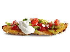 Dallas Cowboys Southwestern Nachos Potato Skins | football potato skins | from FoodNetwork.com