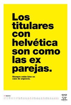 Un calendario para diseñadores con verdades como puños (www.eltipodelaimprenta.com)