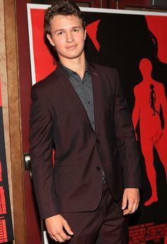 Have you read The Fault in Our Stars? Here's the guy who's playing Augustus, newcomer Ansel Elgort.