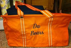 Large Utility tote from our new Thirty-One Spirit line, in Spirit Orange