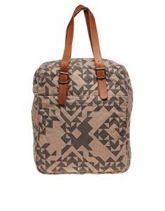 Kate Sheridan Triangle Print Box Bag