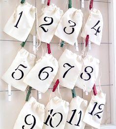 12 Days of Christmas Calendar Kit