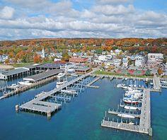 America's Best Towns for Fall Colors: Harbor Springs, MI  #PetoskeyArea  http://www.PetoskeyArea.com