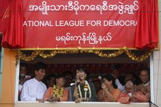 A happy and free Aung San Suu Kyi