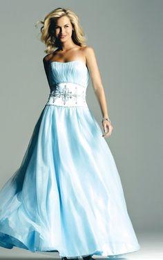 Tiffany blue wedding dress