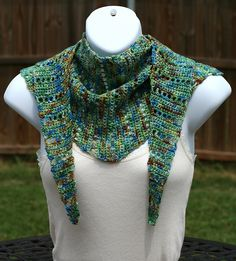 Crobaktus scarf, free crochet pattern by Christy Tchaparian