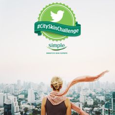A daily act of kindness for your skin could win you prizes. Follow us on Twitter at @Simple Skincare and take our #CitySkinChallenge with @Ramshackle Glam for healthier-looking skin in no time!   Rules: http://bit.ly/1jlqvL9