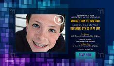 Online Bar Mitzvah Video Invitations from Mitzvites - mazelmoments.com