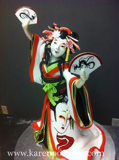 Geisha Cake by Karen Portaleo for Highland Bakery, via Flickr
