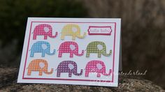 Patterned Occasion stamp set from Stampin'Up!
