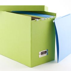 See Jane Work - Basics File Box