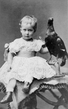 """Her Royal Highness Princess Maud (Maud Charlotte Mary Victoria """"Harry"""") (1869-1938) of Wales, UK. 5th child of Edward VII (1841-1910) & Alexander of Denmark (1844–1925)."""