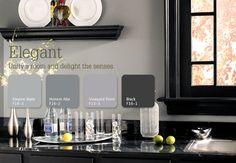 Elegant Grays unify a room and unite the senses. #color #inspiration