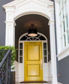 Yellow door <3