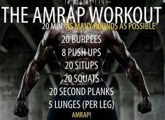 The Amrap Workout.