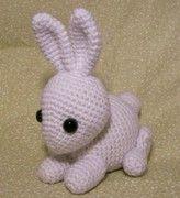 Baby Snow Bunny--Free Pattern - CROCHET