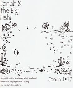 JONAH AND THE BIG FISH dot to dot
