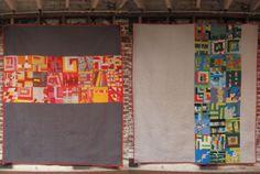 Beautiful modern quilt!